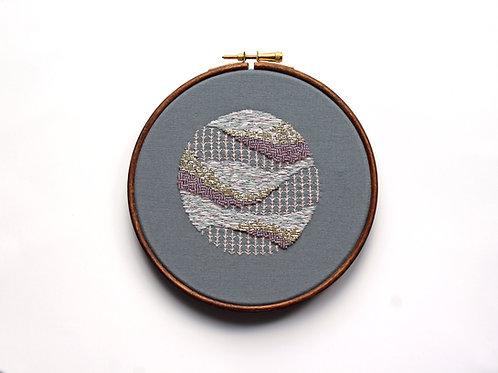 Aurora embroidery art