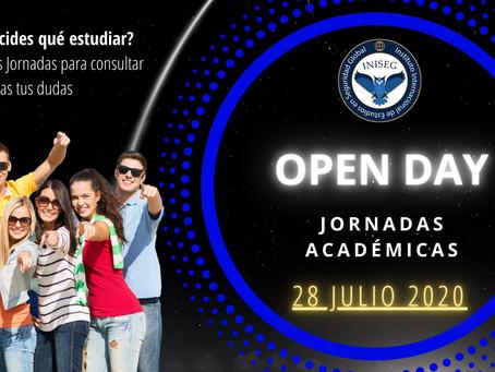 Se abren inscripciones gratuitas para las Jornadas Académicas Open Day 2020 de INISEG