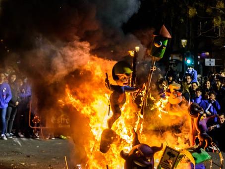 Jornada de protestas en Colombia desata disturbios en el centro de Bogotá