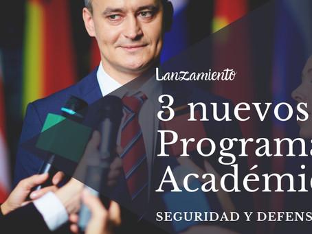 Lanzamiento de 3 Programas Académicos que los alumnos estaban esperando