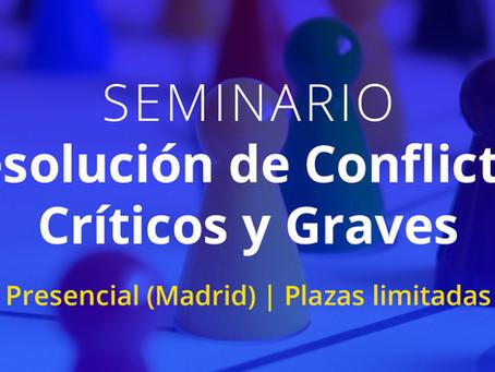 Resolución de Conflictos Críticos y Graves