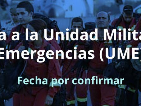 Visita a la Unidad Militar de Emergencias