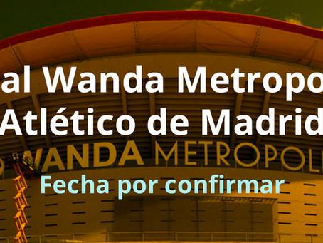 Visita al Wanda Metropolitano Atlético Madrid