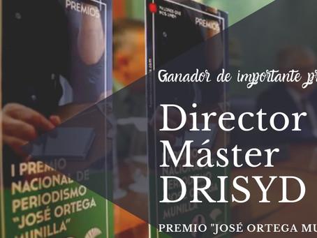 Director del Máster Relaciones Internacionales de INISEG gana Premio Nacional de Periodismo José Ort