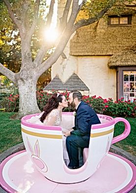 Une petite tasse avec Alice, Se marier à Disney