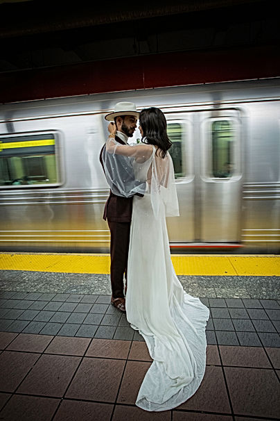 Metro New York, Se marier wedding Bulle eternelle