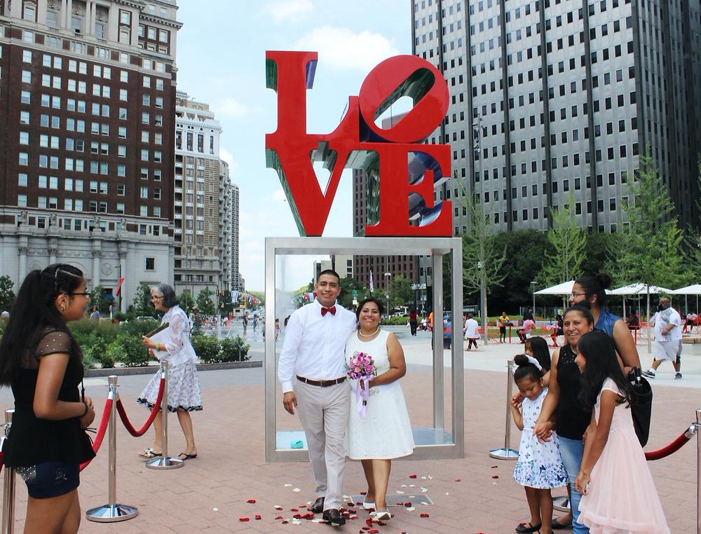 Se marier dans la Philadelphia