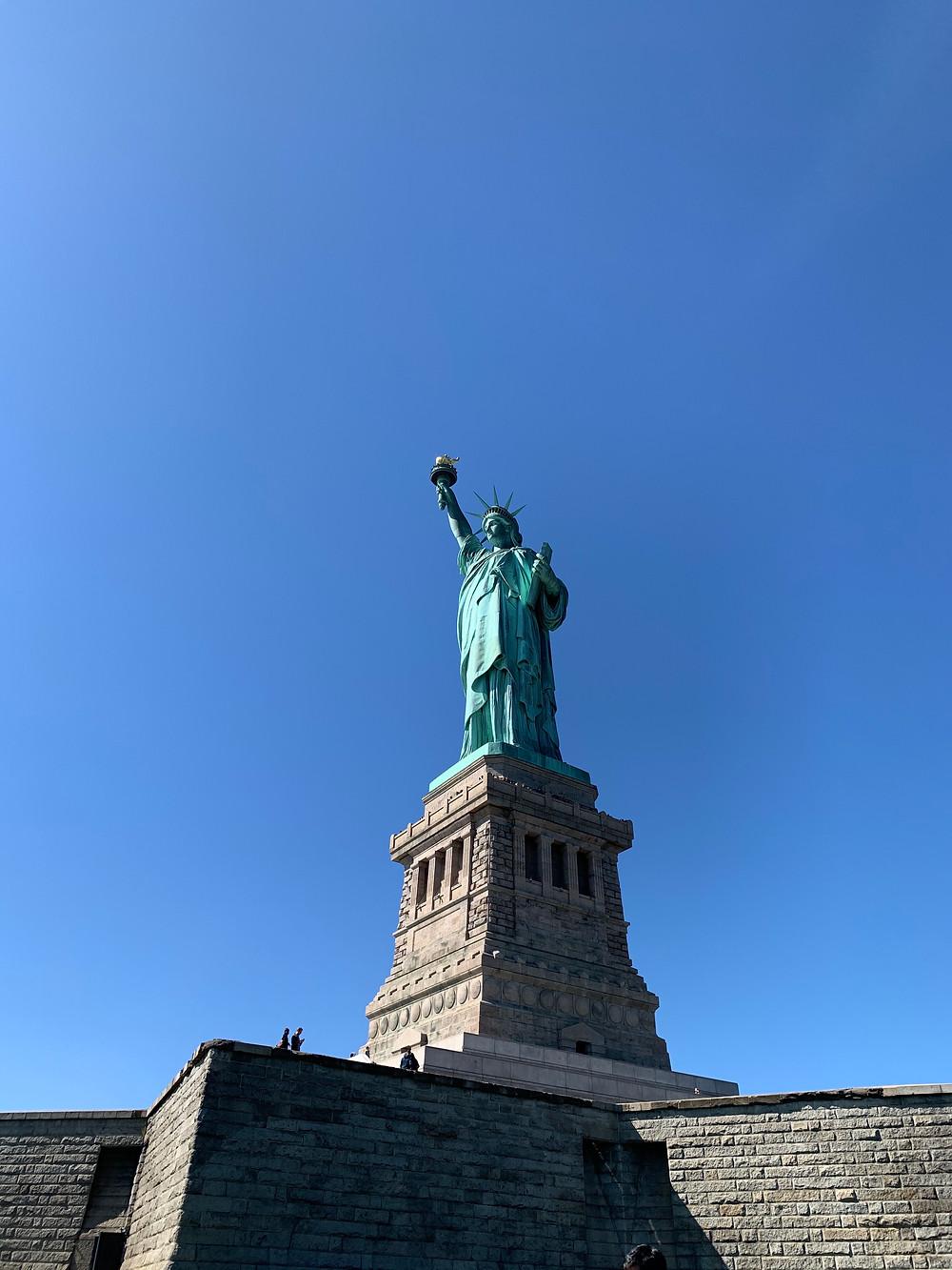 Visite de la statue de la liberté obligatoire...