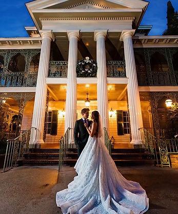 Se marier à Disney, Haunted Mansion, bulle Eternelle