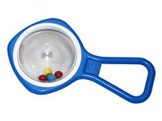 Ball beads blue-white