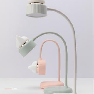 dual cat lamp white mint rose