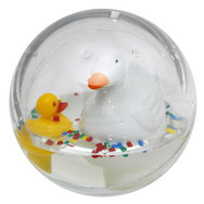 Mother Duck small white-red