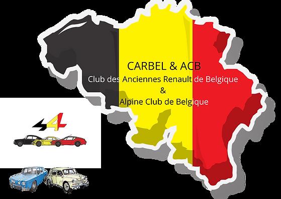 CARBEL & ACB Club des Anciennes Renault