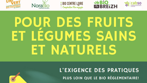Des fruits et légumes sains et naturels