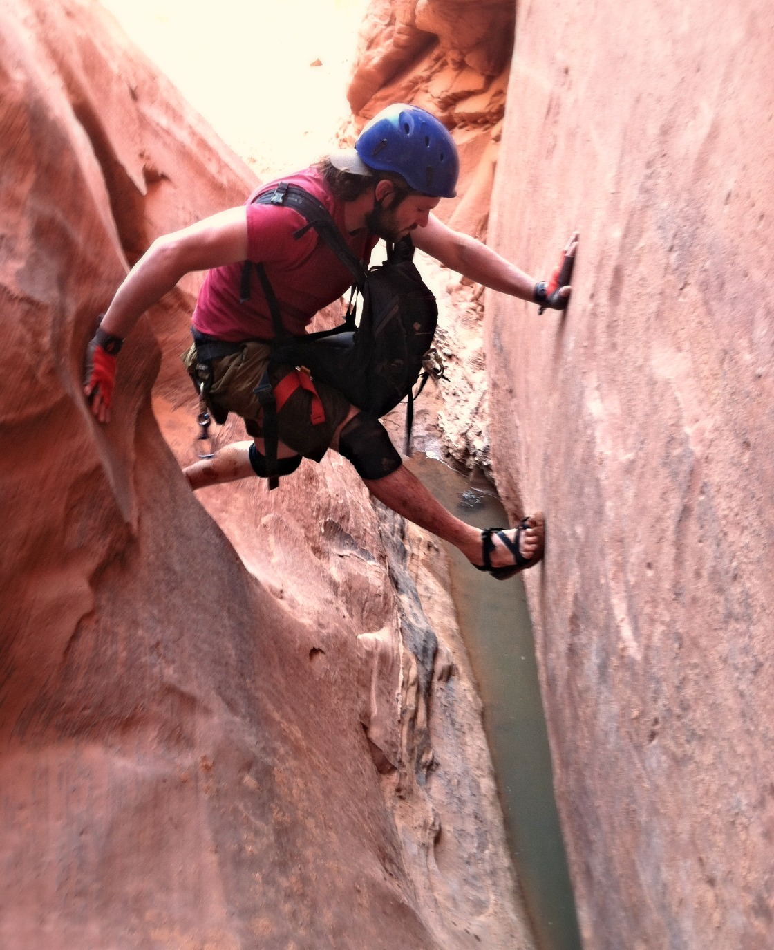 Guided canyoneering | Robber's Roost