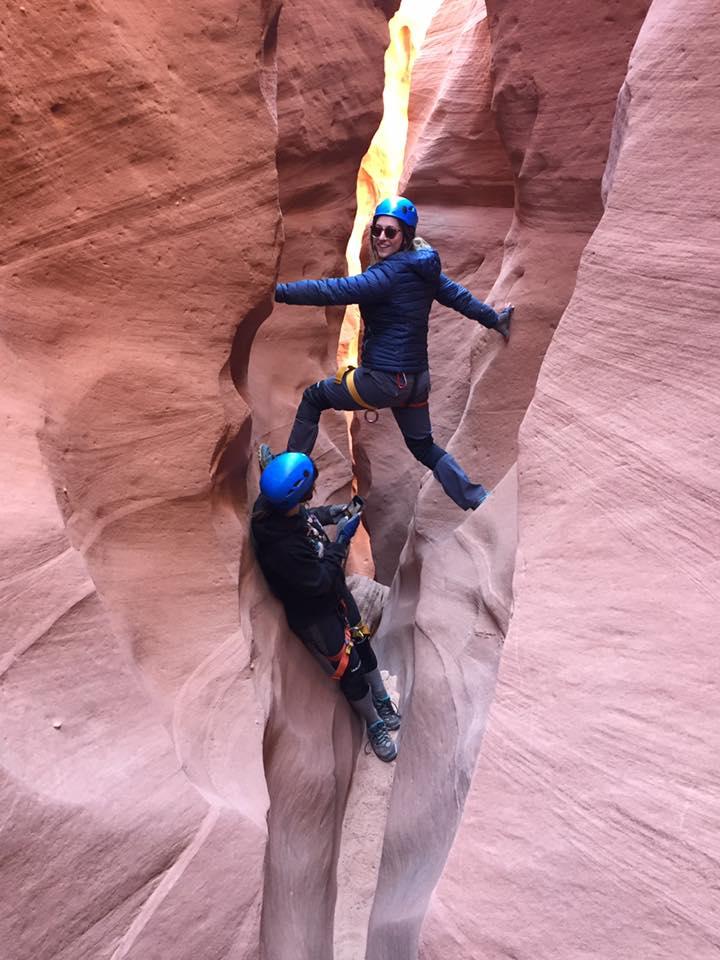 North Wash Slot Canyons