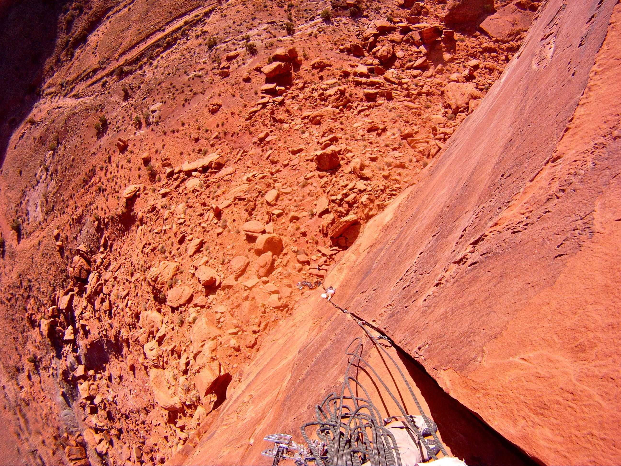 Guided rock climbing | Moab, Utah