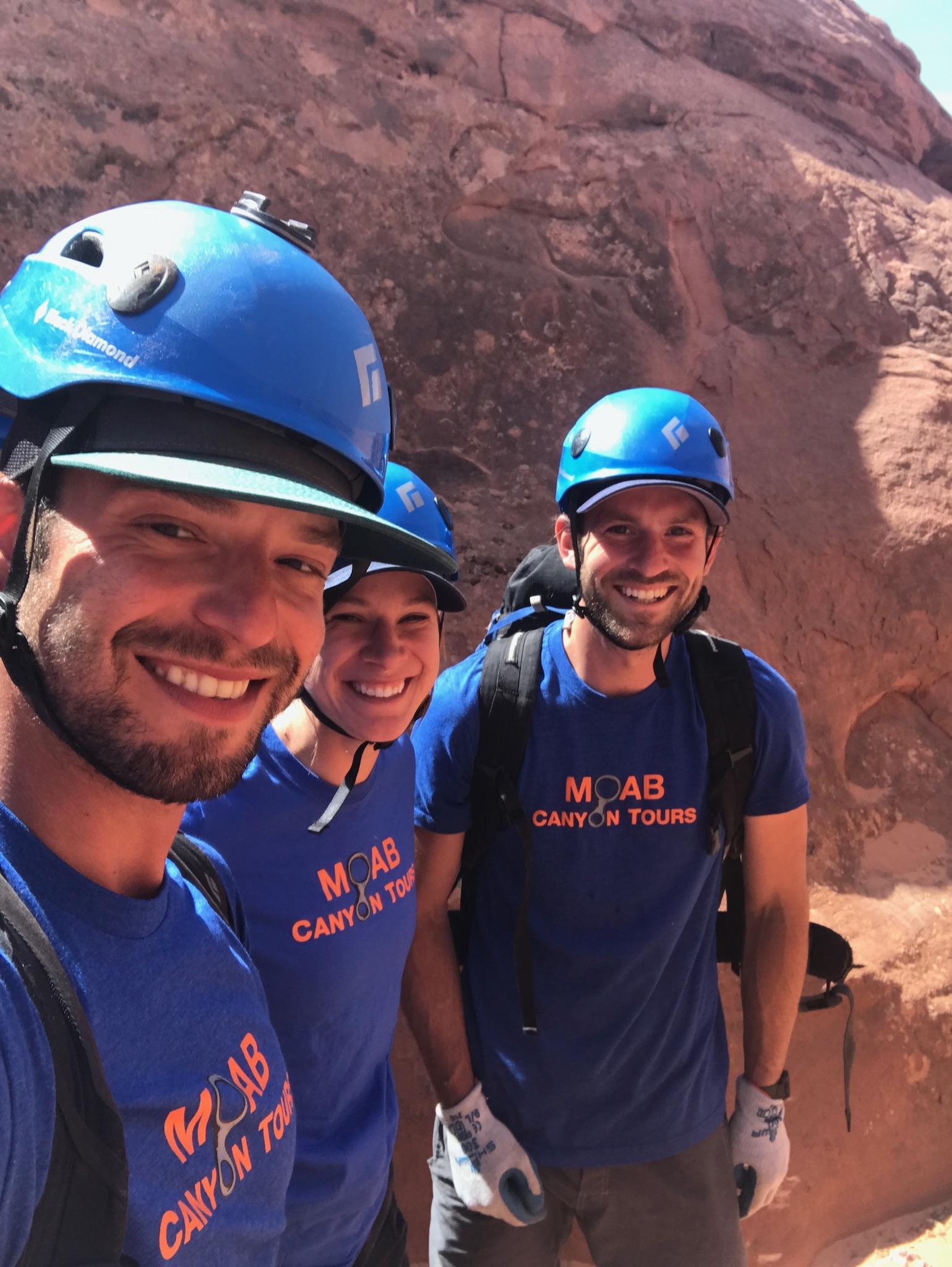 Guided Canyoneering   Moab, Utah