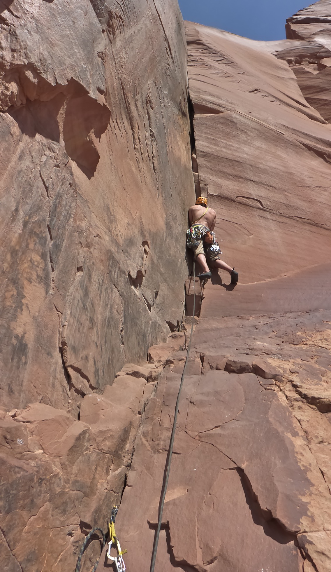 Guided climbing moab