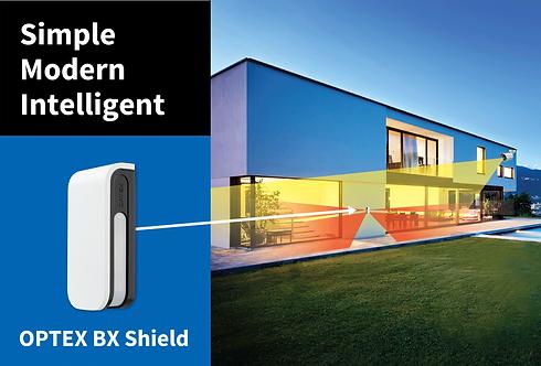 BX-R detecteur exterieur optex pour systeme d'alarme jardin et maison