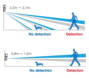 pose detecteur alarme jardin perimetrique exterieur videosurveillance camera