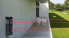 systeme alarme ajax securite pour detection exterieur sans fils pour une maison ou un entrepot