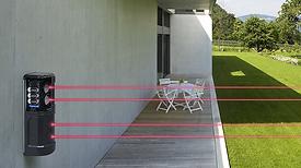 detecteur exterieur ajax pour alarme maison et jardin exterieur