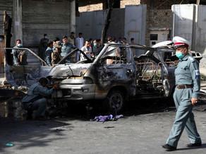 7 dead as bombs hit two minivans in Afghanistan.