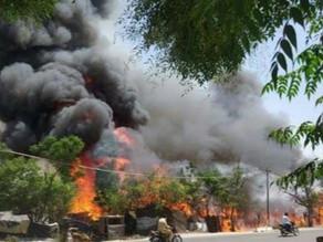 250 shanties in Punjab's Kapurthala gutted in fire.