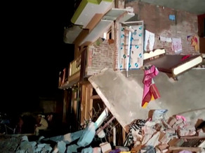 8 died because of the cylinder blast in Uttar Pradesh.