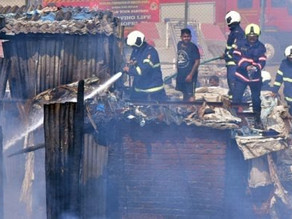 13 people sustained burn injuries as fire breaks out in Delhi.