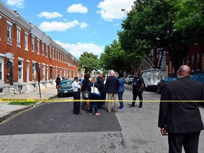 1 dead and 5 injured in Baltimore shooting.