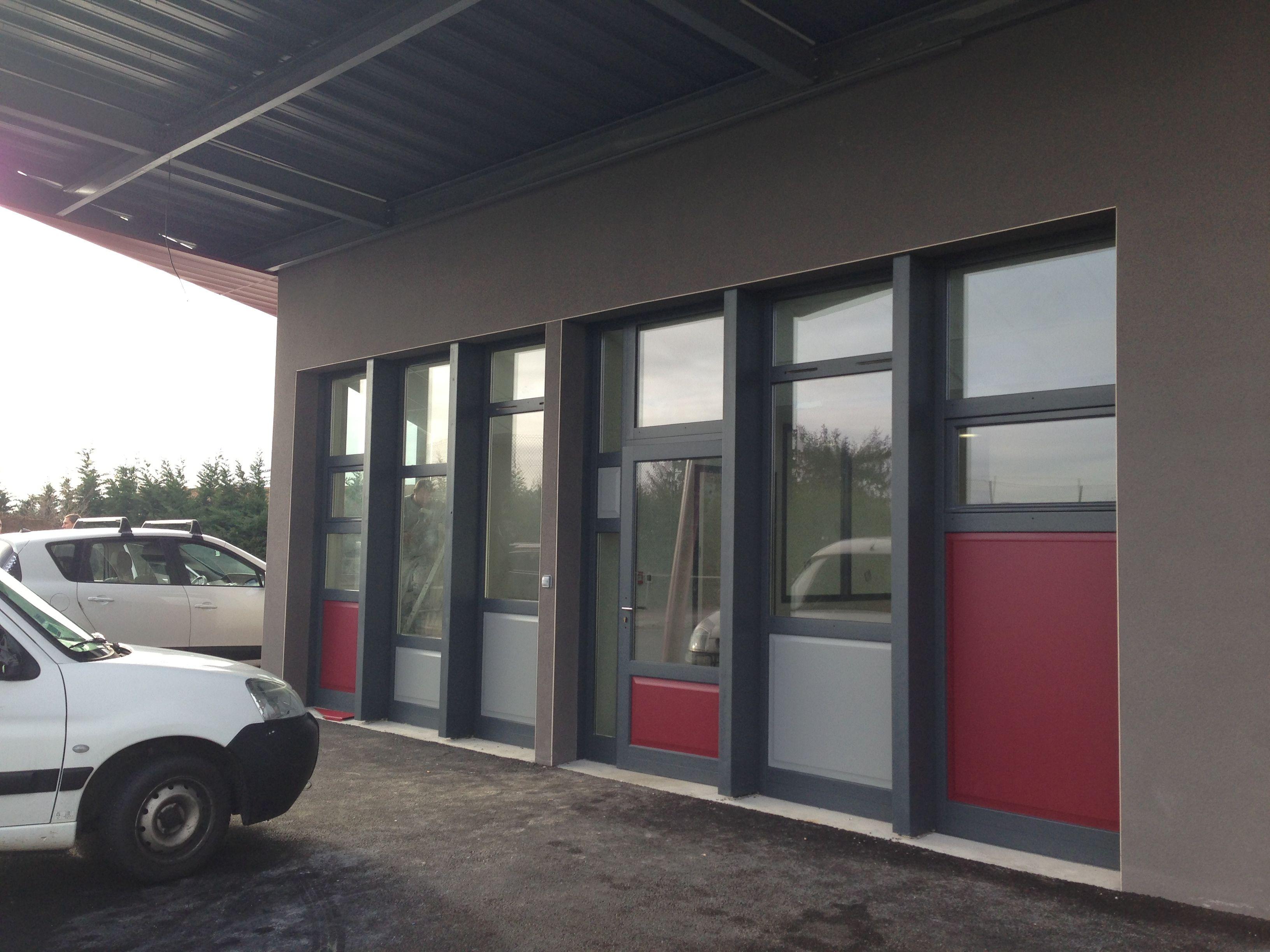 Atelier municipal à Ouges (21)