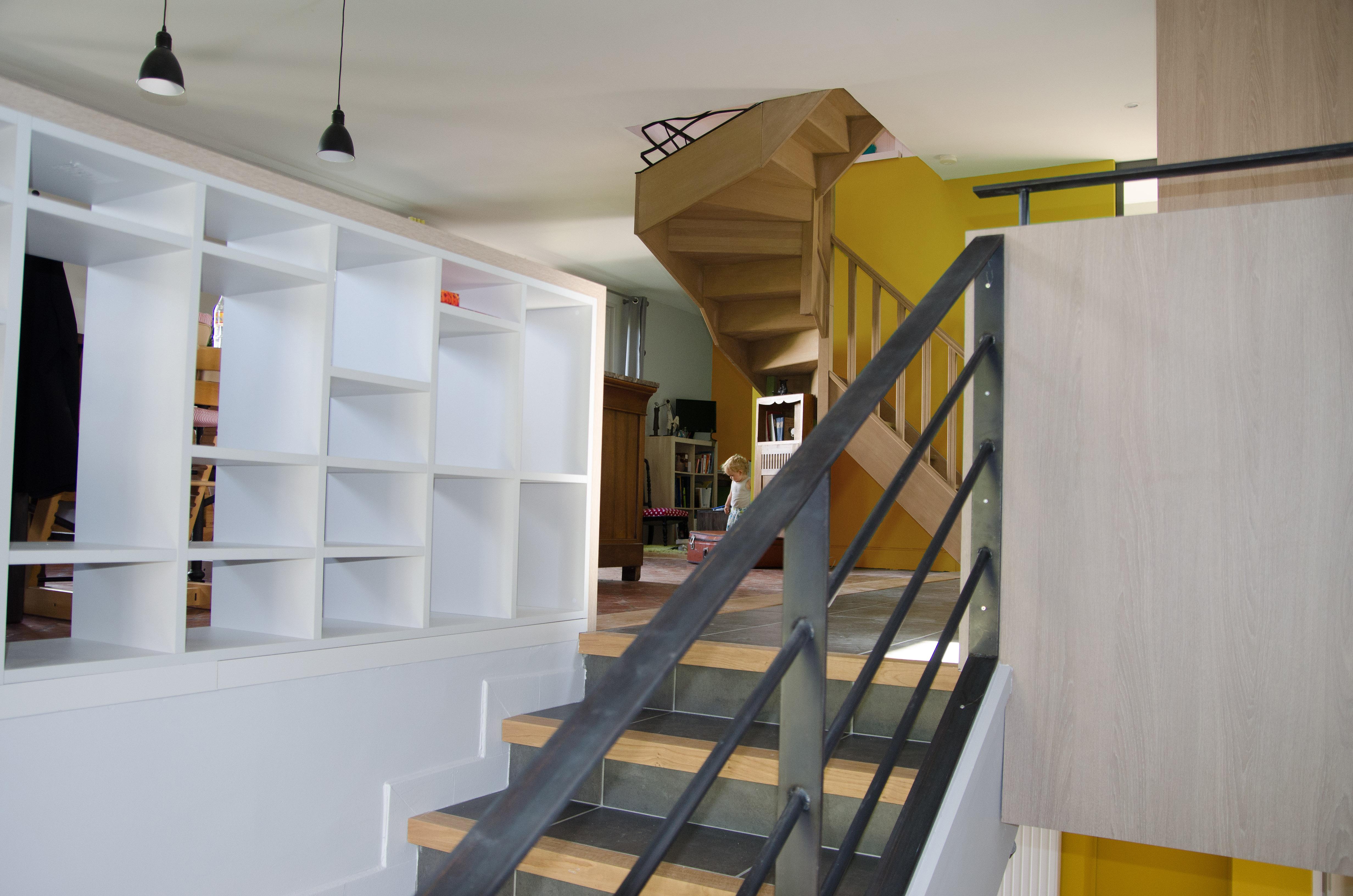 Rénovation d'une maison à Charly -69