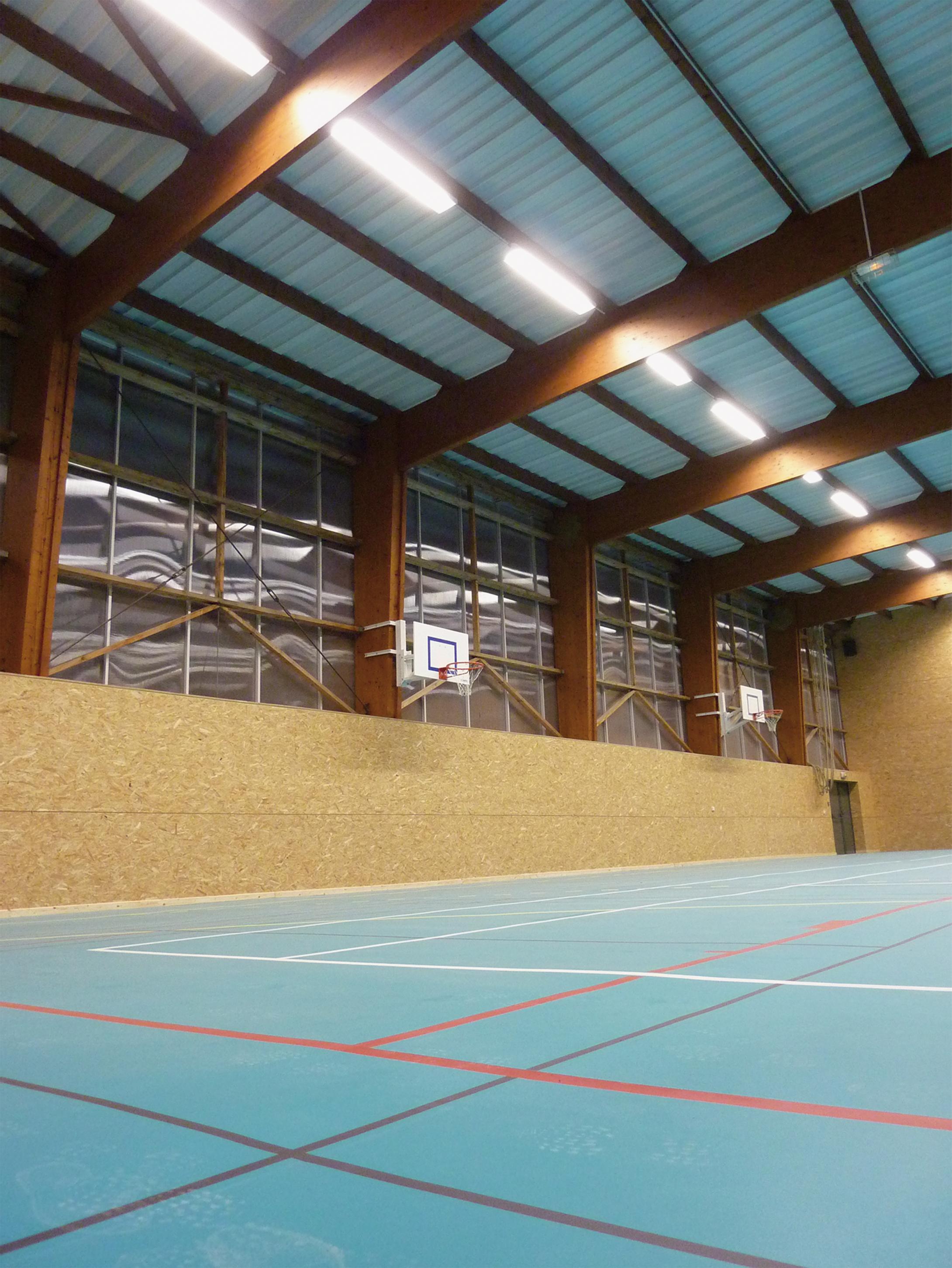 Gymnase de St Germain du Plain (71)