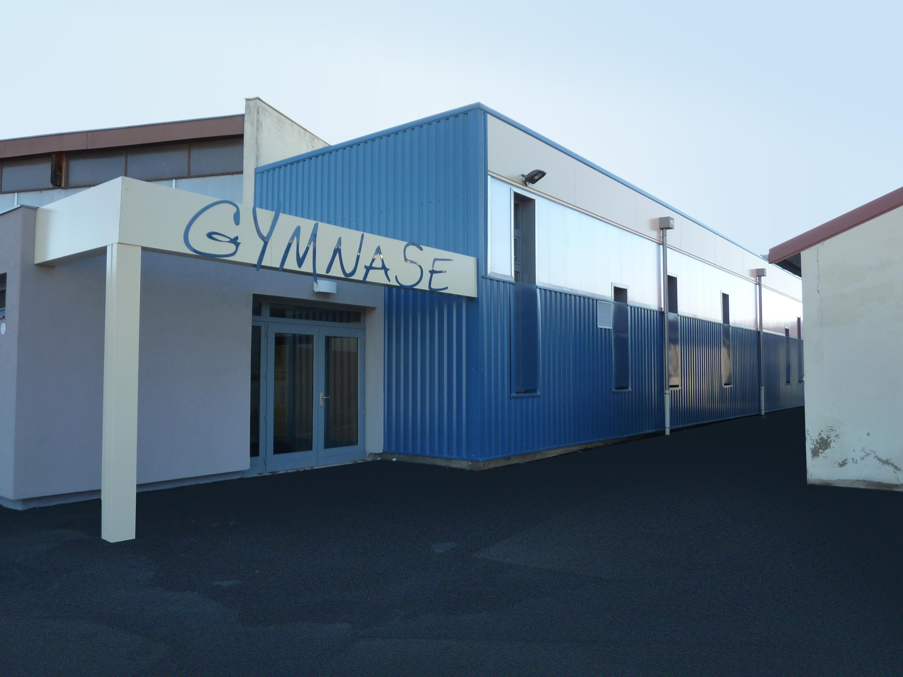 Salle de gymnastique à Cuisery (71)