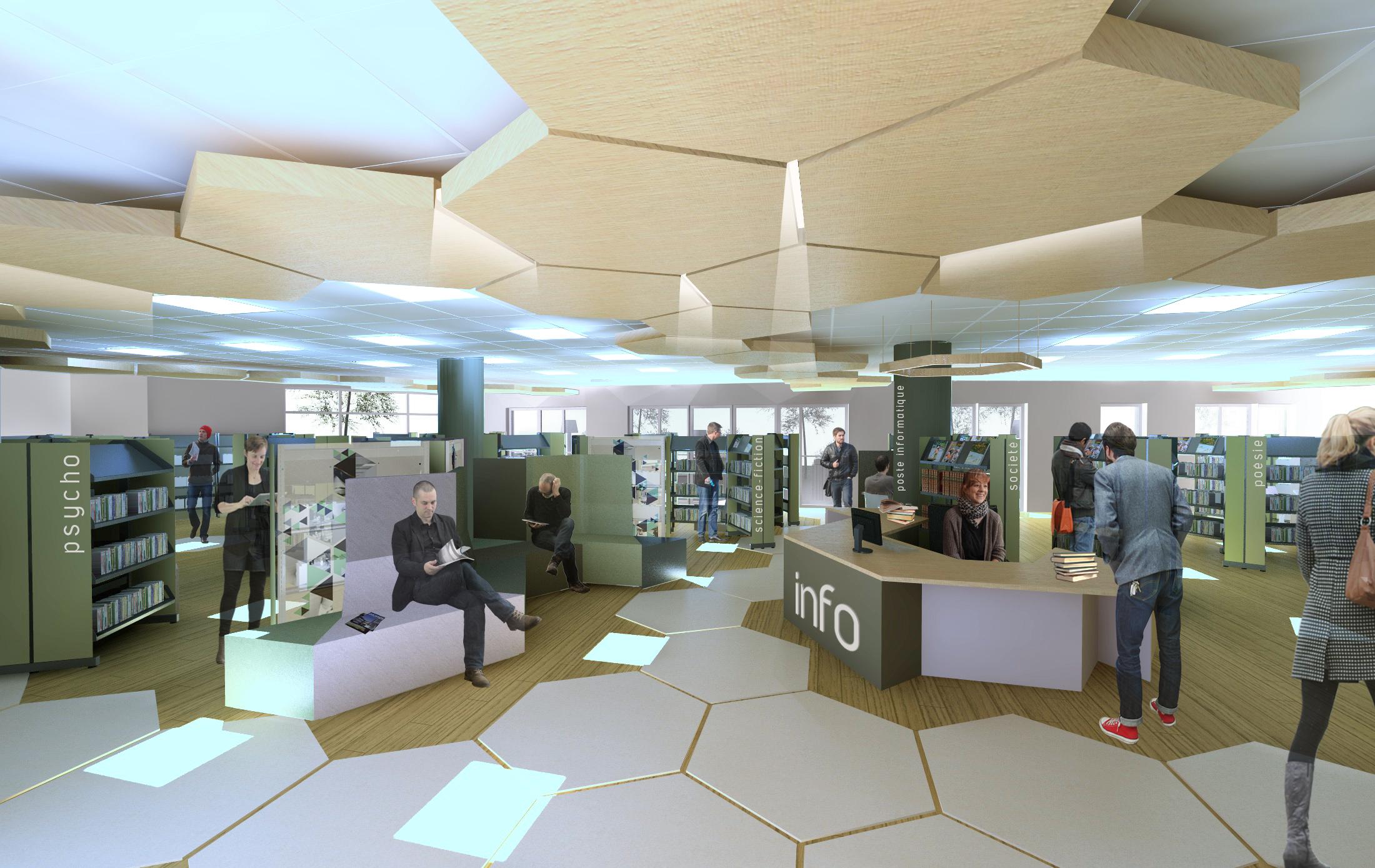 Bibliothèque de Sainte Foy les Lyon