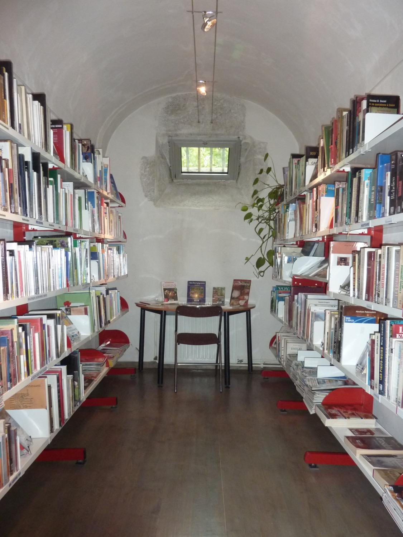 Bibliothèque en prison