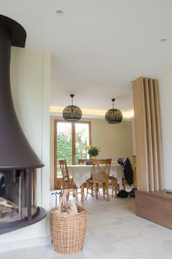 Salon cosy à St Genis Les Ollières
