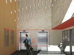 Bâtiment de consultations à Rillieux