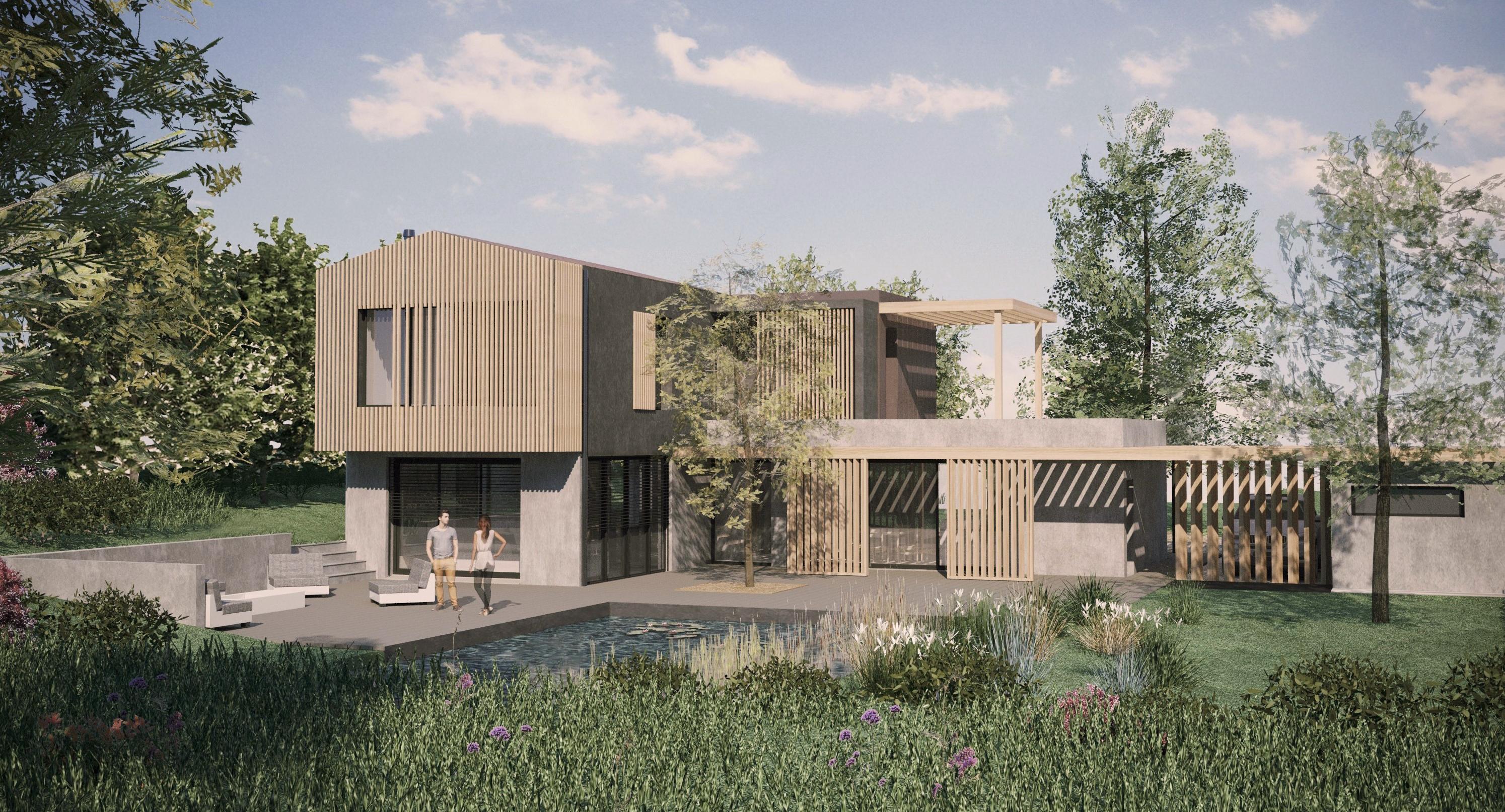 Concept de maison individuelle
