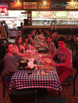 A fun night was had by all.... Chicago Sky game and Portillos .. another Great American experience f