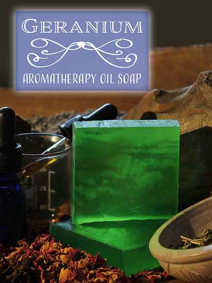 Aromatherapy Soap - Geranium