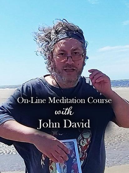 On-line Meditation Course with John David