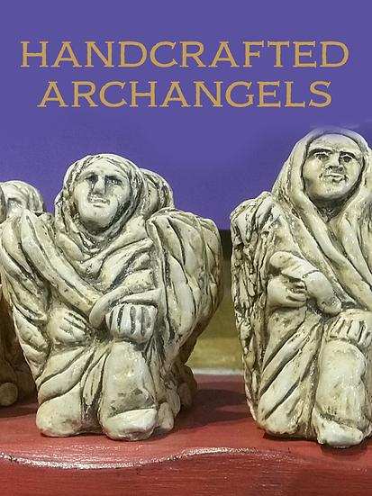 Archangel Altar Statues by Victoria Heath