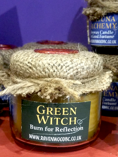 Bespoke Alchemy Beeswax Herb & Oil Candles