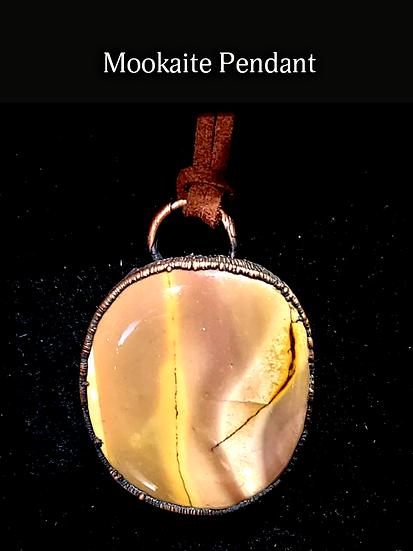 Handcrafted Mookaite Pendant