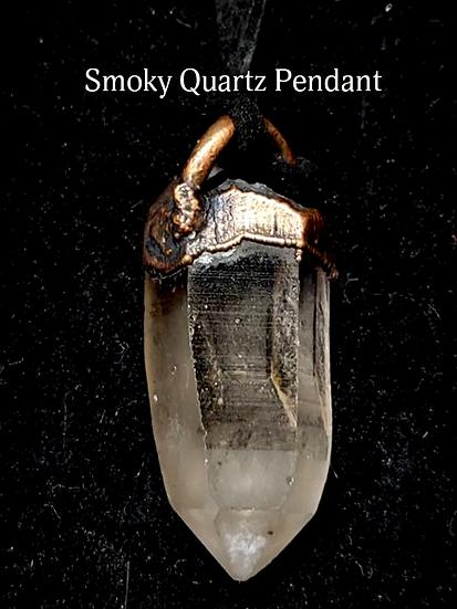 Handcrafted Smoky Quartz Point Pendant