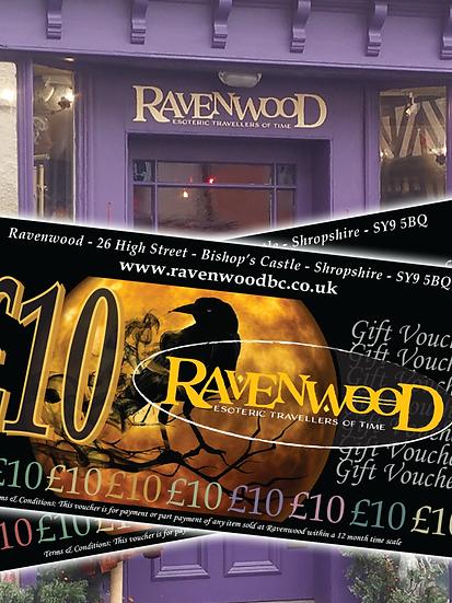 Ravenwood Gift Vouchers