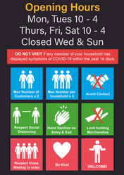 Opening Times for Ravenwood during Covid-19